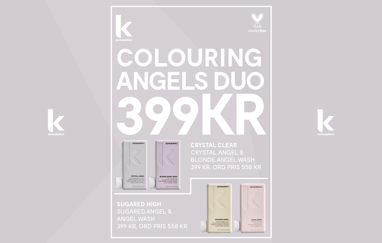 Konkavskylt Risbergs Colouring Angels Duo